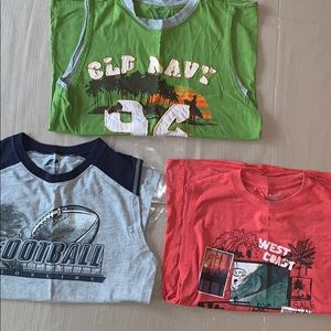 Lot of Boys Sleeveless Shirts Price for 3)